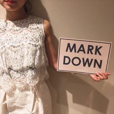 SALE☆MARK DOWN