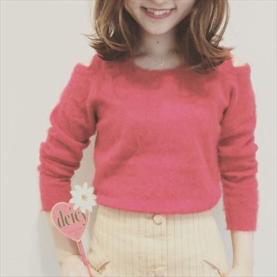 Cut shoulder knit ♡