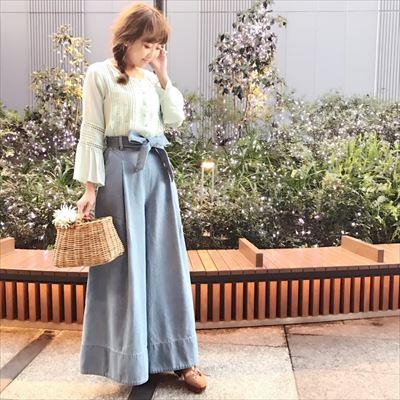 torsion lace blouse♡