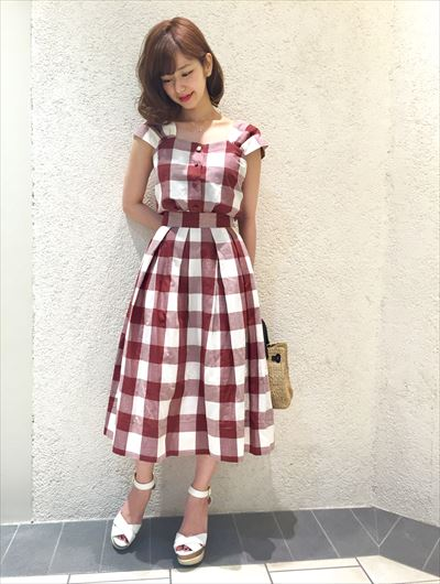 Gingham check series