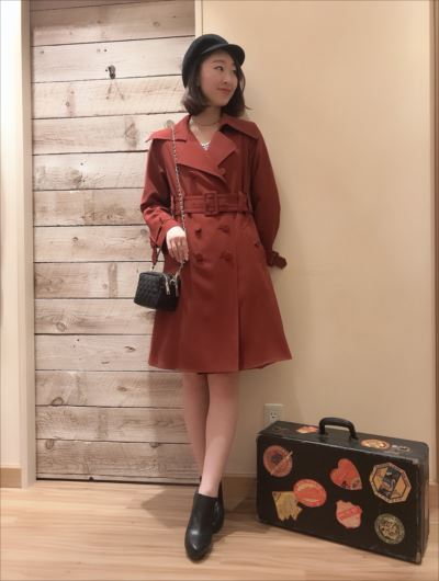 spring trench coat♡