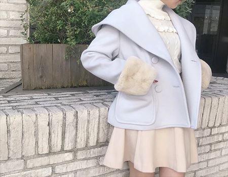 Flare mini skirt♡