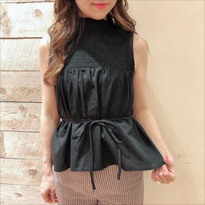 shirring blouse♡