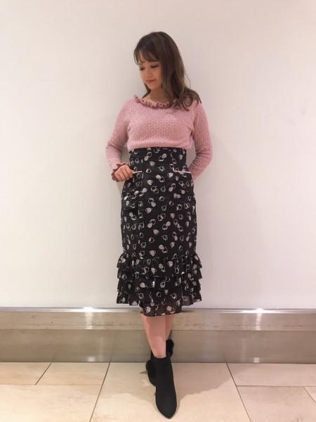 スカート全身