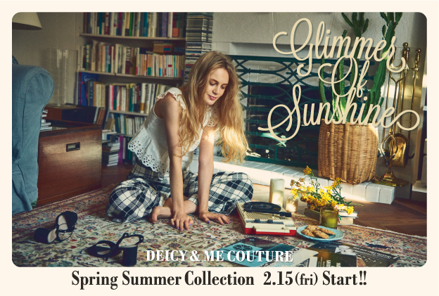 2019 SPRING&SUMMER  COLLECTION 2/15(fri)START‼